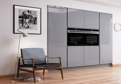 topline-rogers-kitchens-strada-gloss-dust-grey-and-light-grey-oven-wall-unit
